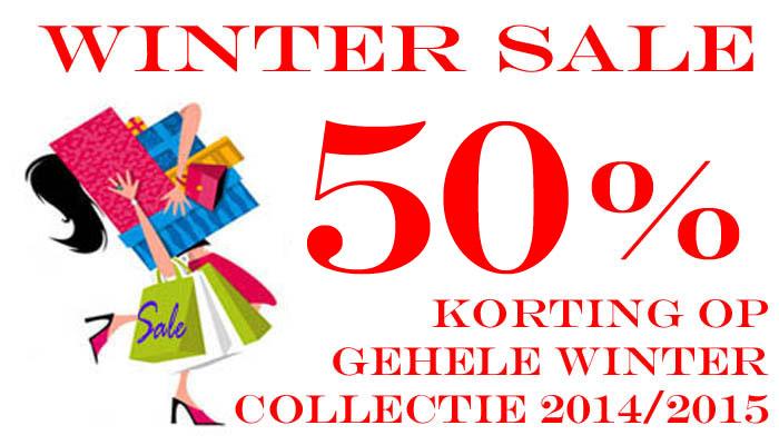 Sale winter Collectie 2014